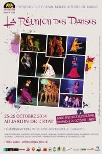 Affiche La Reunon des danse Portrait HD  13 10 2014_001
