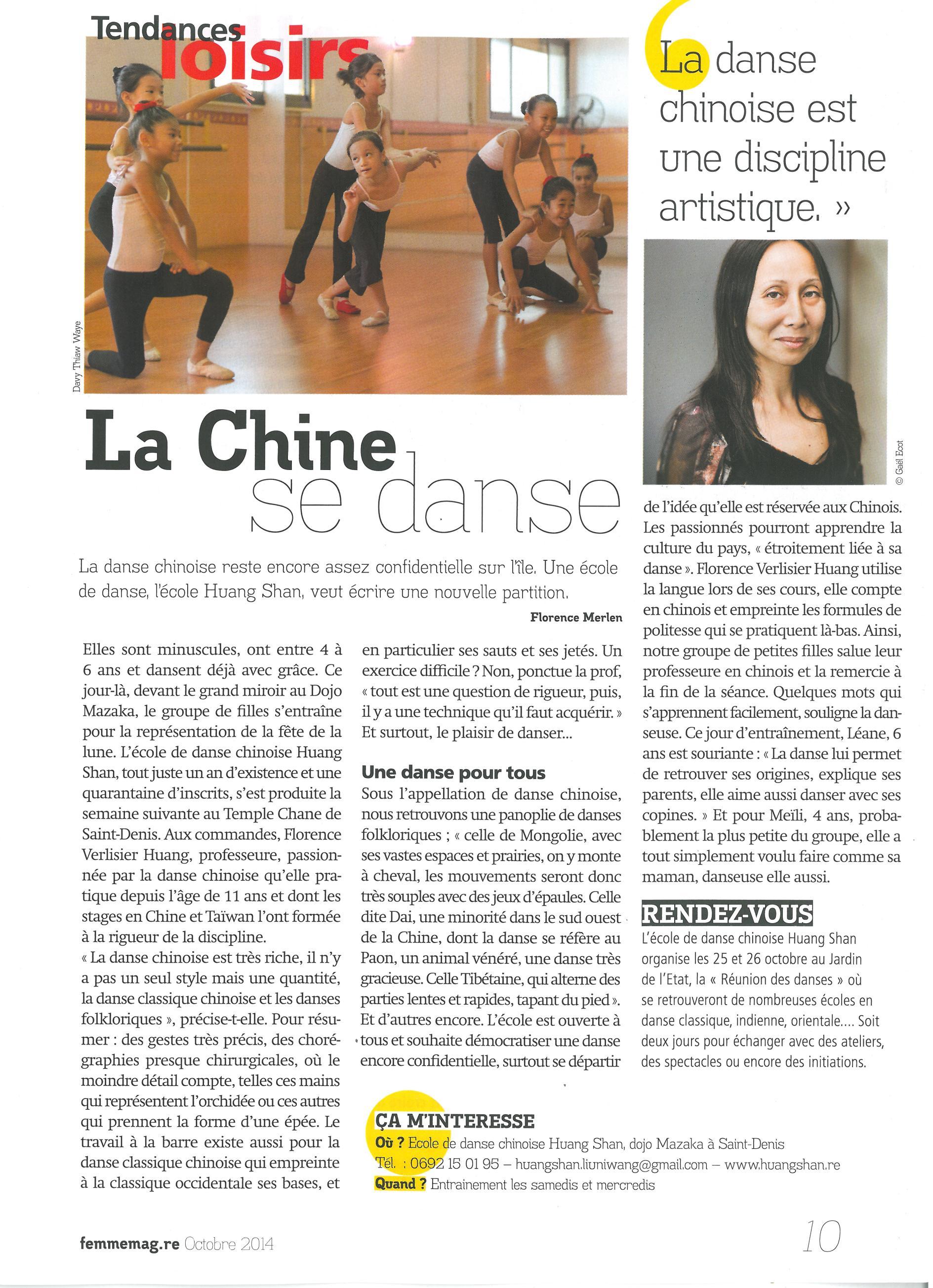 Femme magazine 2 10 2014