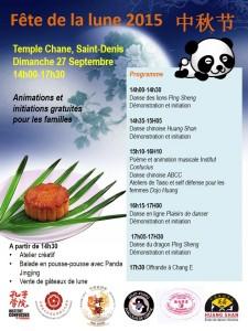 Programme Fete de la lune 2015