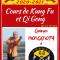 Nouveauté rentrée 2020 : Cours de kungfu wushu et Qigong