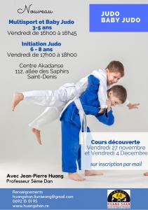 Nouveauté judo